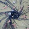 Сетка с вышивкой 26-826