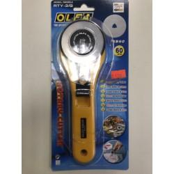 Нож-резак для печворка OLFA(60mm)