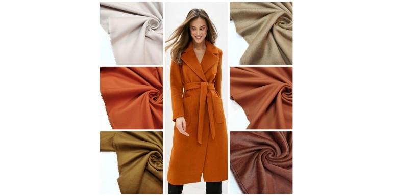 Итальянская пальтовая ткань