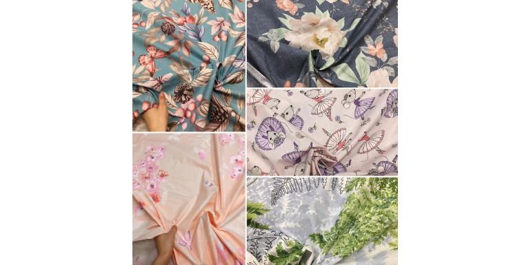 В нашем магазине есть множество тканей для постельного белья)