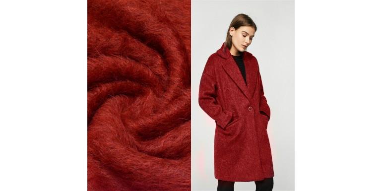 В наличии итальянская пальтовая ткань!