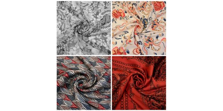 Новые плательные ткани