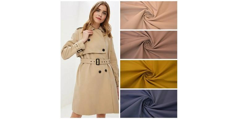 Новые курточно-плащевые ткани